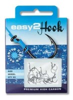 "Крючки ""Еasy 2 Нook"" PIKE/PERCH/ZANDER (щука,окунь,судак) # 1 (black) - Интернет-магазин товаров для рыбалки Эбису, Екатеринбург"