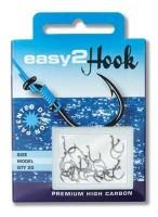 """Крючки """"Еasy 2 Нook"""" WORM (для червя) # 8 (black) - Интернет-магазин товаров для рыбалки Эбису, Екатеринбург"""