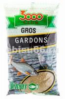 Прикормка Sensas 3000 Club Gros Gardons 1 кг 11322 - Интернет-магазин товаров для рыбалки Эбису, Екатеринбург