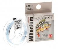 Леска Dragon monofilament MILLENIUM Winter 50 m  0.10 mm - Интернет-магазин товаров для рыбалки Эбису, Екатеринбург