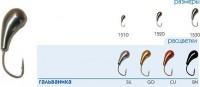 Мормышка PWCH №5 Cu чесночинка - Интернет-магазин товаров для рыбалки Эбису, Екатеринбург