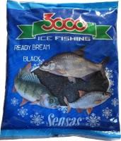 Прикормка зим. готовая Sensas 3000 BREAM BLACK 0,5 кг - Интернет-магазин товаров для рыбалки Эбису, Екатеринбург