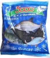 Прикормка зим. готовая Sensas 3000 ROACH BLACK 0,5 кг - Интернет-магазин товаров для рыбалки Эбису, Екатеринбург