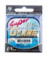 Леска Gamakatsu Super G-Line 50м d-0.16 2,45 кг - Интернет-магазин товаров для рыбалки Эбису, Екатеринбург