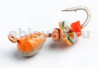 Мураши 2,5 серебро+цвет+паетка Hayabusa 0,3 гр - Интернет-магазин товаров для рыбалки Эбису, Екатеринбург