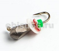 Кристалл 3 чищеный, паетка, Hayabusa 0,3 гр - Интернет-магазин товаров для рыбалки Эбису, Екатеринбург
