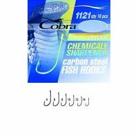 Крючки Cobra CRYSTAL сер.1121 разм.014 - Интернет-магазин товаров для рыбалки Эбису, Екатеринбург