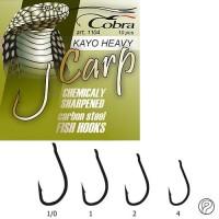 Крючки Cobra CARP HEAVY разм.002 - Интернет-магазин товаров для рыбалки Эбису, Екатеринбург