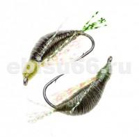 Мормышка Тагильская 0,4гр №12 темная олива - Интернет-магазин товаров для рыбалки Эбису, Екатеринбург