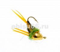 Prince на вольфрамовой мормышке (12, золото, 3 мм, супернимфа) - Интернет-магазин товаров для рыбалки Эбису, Екатеринбург