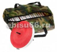 Кружок рыболовный оснащенный диаметр 16см в сумке,упаковка 10шт - Интернет-магазин товаров для рыбалки Эбису, Екатеринбург