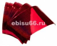 Hologram Stiker STRIKE PRO Голографические наклейки красные (размер 65мм.)  (HOST709-RED) - Интернет-магазин товаров для рыбалки Эбису, Екатеринбург