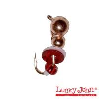 Мормышка вольфрамовая Lucky John муравей с петел.пайет. и бисер. 040/C - Интернет-магазин товаров для рыбалки Эбису, Екатеринбург