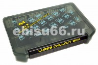 Коробка для приманок Pontoon21 Lures Chillout Box 205x145x40,черный./верх прозр. - Интернет-магазин товаров для рыбалки Эбису, Екатеринбург