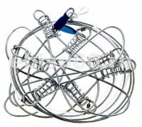 Кукан металлический трос 7 карабинов (Три кита) - Интернет-магазин товаров для рыбалки Эбису, Екатеринбург
