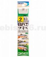 Крючки OH SHIRAHAE YAMABE 2-0.3 - Интернет-магазин товаров для рыбалки Эбису, Екатеринбург