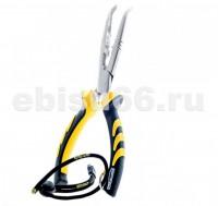 Инструмент рыболовный SPRO BENT LONG  NOSE PLIERS 23cm - Интернет-магазин товаров для рыбалки Эбису, Екатеринбург