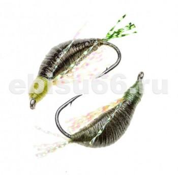 Мормышка Тагильская 0,9гр №8 темная олива - Интернет-магазин товаров для рыбалки Эбису, Екатеринбург