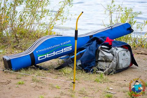 экипировка спортсмена-рыболова