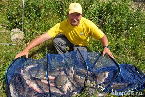 лещевая рыбалка