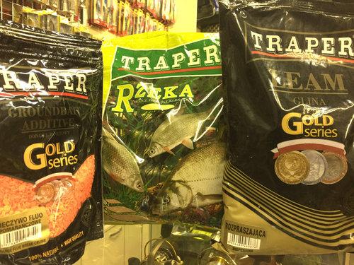 состав прикормок трапер для любительской ловли фидером