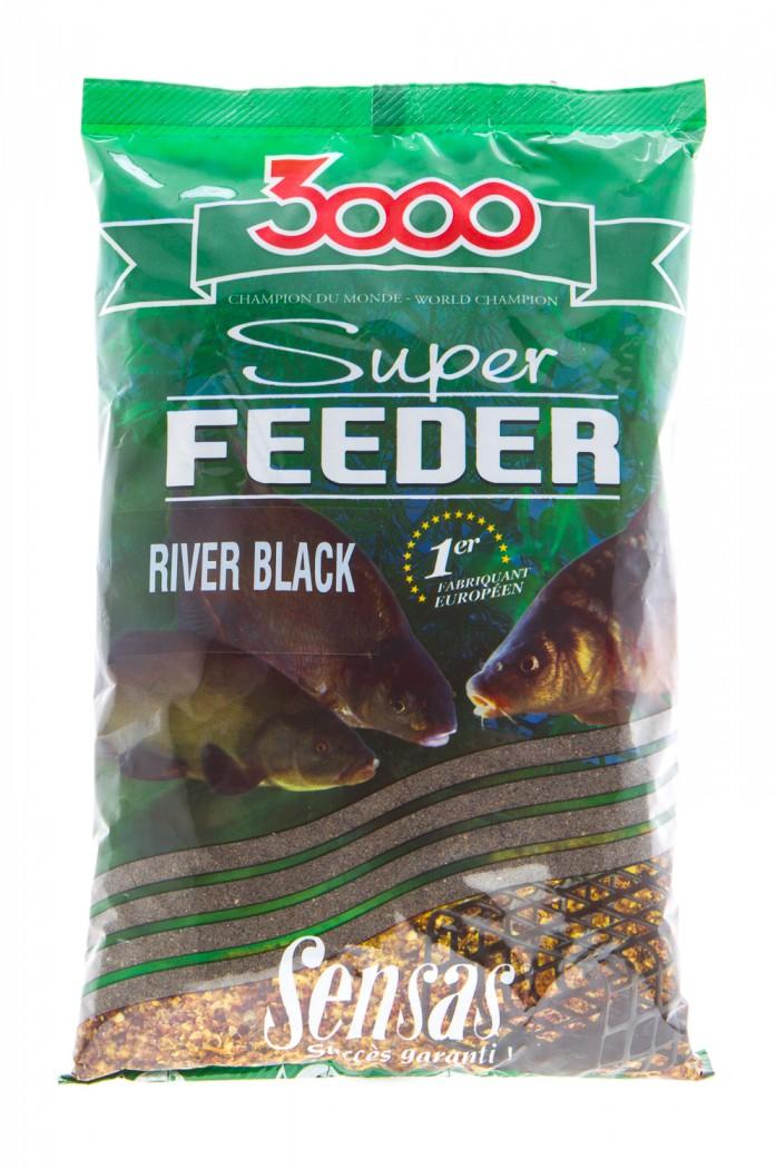 Обсуждение Прикормка Sensas 3000 Super Black Feeder 1 кг
