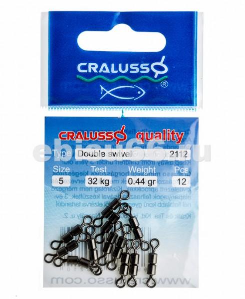 Cralusso Double Swivel 12pcs//bag